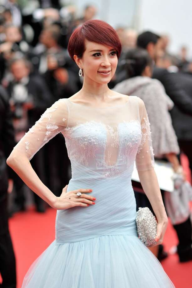 "Jin Qiaoqiao attends the Opening ceremony and the ""Grace of Monaco"" Premiere during the 67th Annual Cannes Film Festival on May 14, 2014 in Cannes, France. Photo: Gareth Cattermole, Getty Images"