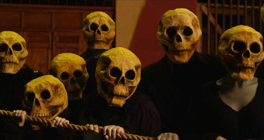 """A typically surrealistic scene from 85-year-old filmmaker Alejandro Jodorowsky's """"Dance of Reality."""" Photo: ABKCO Films"""