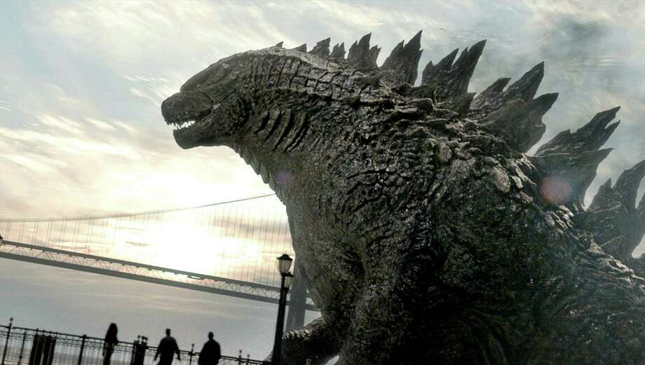 """This isn't your grandparents' """"Godzilla,"""" but that's not necessarily a good thing. Brian Cranston of """"Breaking Bad"""" fame plays a scientist in this installment. Photo: Warner Bros. Pictures / Warner Bros. Pictures"""