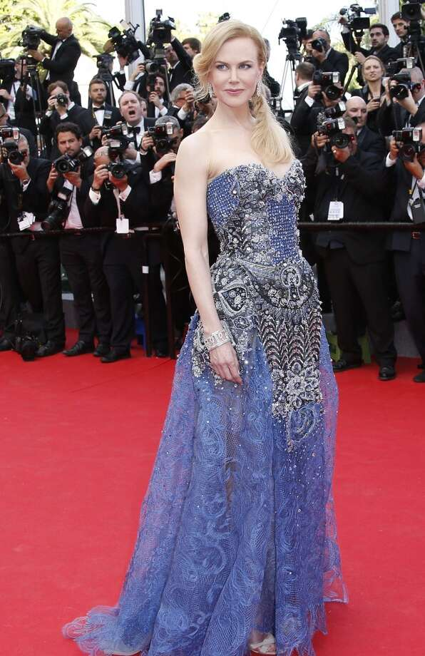 """Australian actress Nicole Kidman poses as she arrives for the Opening Ceremony and the screening of her film """"Grace of Monaco"""" at the 67th edition of the Cannes Film Festival in Cannes, southern France, on May 14, 2014. Photo: VALERY HACHE, AFP/Getty Images"""