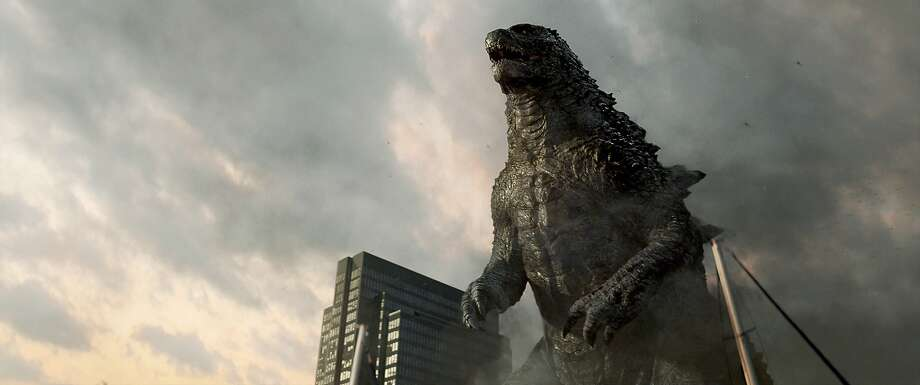 Godzilla destroys landmarks - lots and lots of landmarks. Viewers seem to love this recurring monster-movie theme. Photo: Courtesy Of Warner Bros. Picture, Warner Bros.