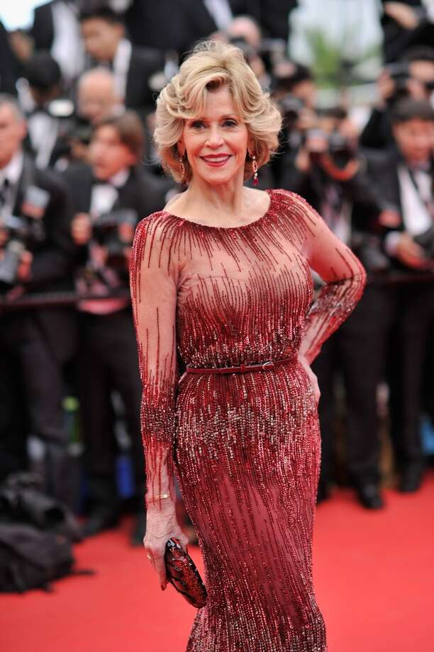 "Jane Fonda attends the Opening ceremony and the ""Grace of Monaco"" Premiere during the 67th Annual Cannes Film Festival on May 14, 2014 in Cannes, France. Photo: Gareth Cattermole, Getty Images"