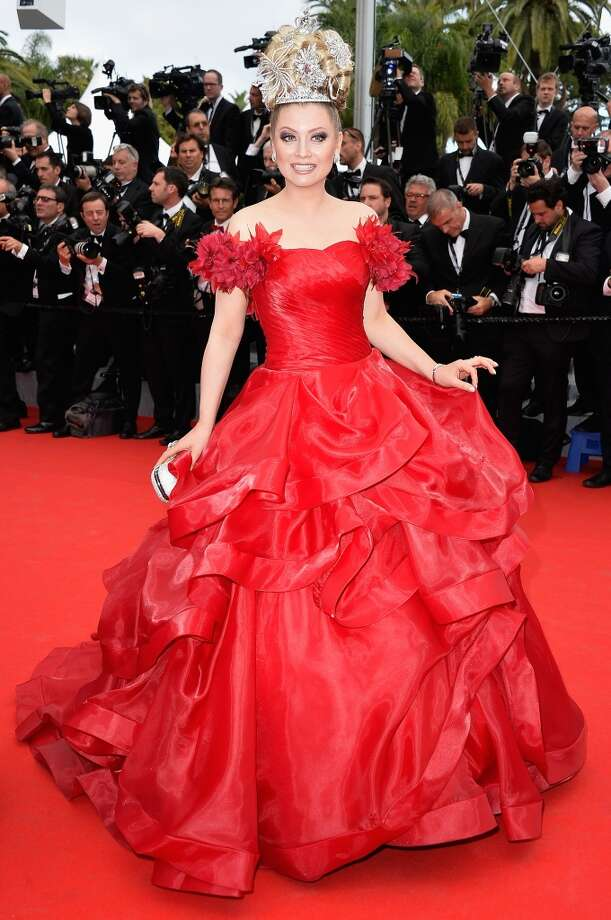 "Elena Lenina attends the Opening ceremony and the ""Grace of Monaco"" Premiere during the 67th Annual Cannes Film Festival on May 14, 2014 in Cannes, France. Photo: Pascal Le Segretain, Getty Images"