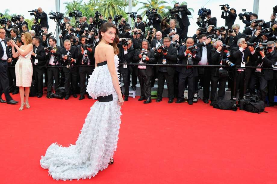 "Laetitia Casta attends the Opening ceremony and the ""Grace of Monaco"" Premiere during the 67th Annual Cannes Film Festival on May 14, 2014 in Cannes, France. Photo: Gareth Cattermole, Getty Images"