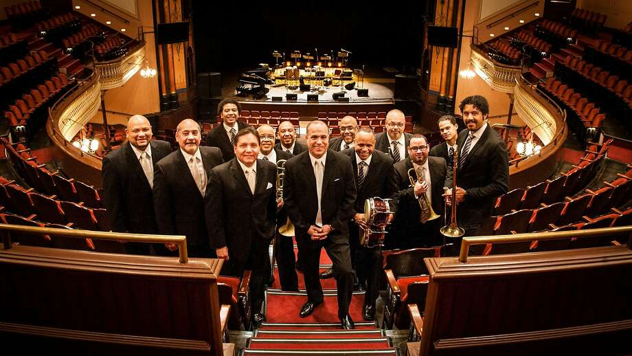 The Grammy-nominated Spanish Harlem Orchestra, led by pianist-arranger Oscar Hernández, brings its old-school salsa dura sound for a two-night run at Yoshi's in Oakland this Saturday. Photo: Yoshi's