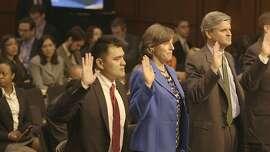 DOCUMENTED Jose Antonio Vargas testifies in front of the United States Senate Judiciary Committee.