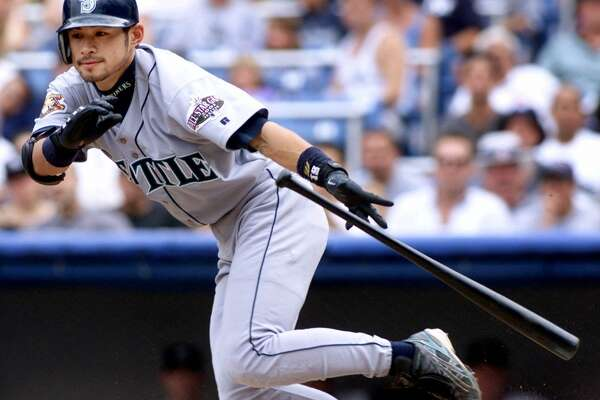 1. Ichiro Suzuki  — 2001  Right fielder | Free-agent signee, 2000 | With M's 2001-2012 