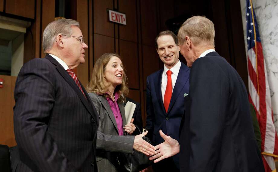 Sylvia Mathews Burwell, President Barack Obama's nominee to become Health and Human Services secretary, is seen as likely to be swiftly confirmed after another cordial session with lawmakers on Wednesday. Photo: STF / AP