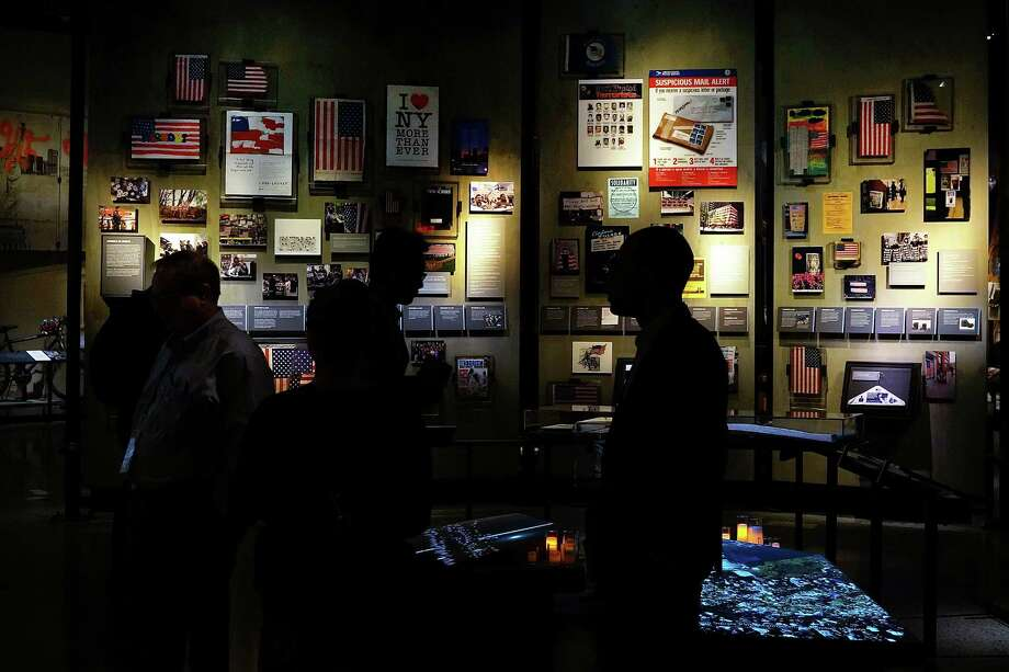 Artifacts from Ground Zero are viewed during a preview of the National September 11 Memorial Museum on May 14, 2014 in New York City. Photo: Spencer Platt, Getty Images / 2014 Getty Images