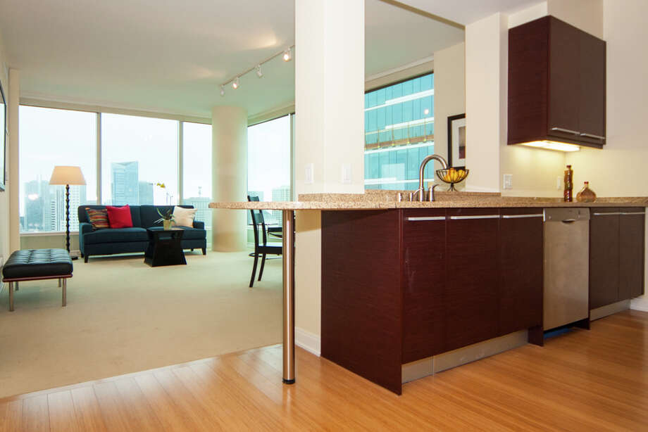 The one-bedroom condo is on the 41st floor. Photo: JacksonFuller SF Real Estate Team