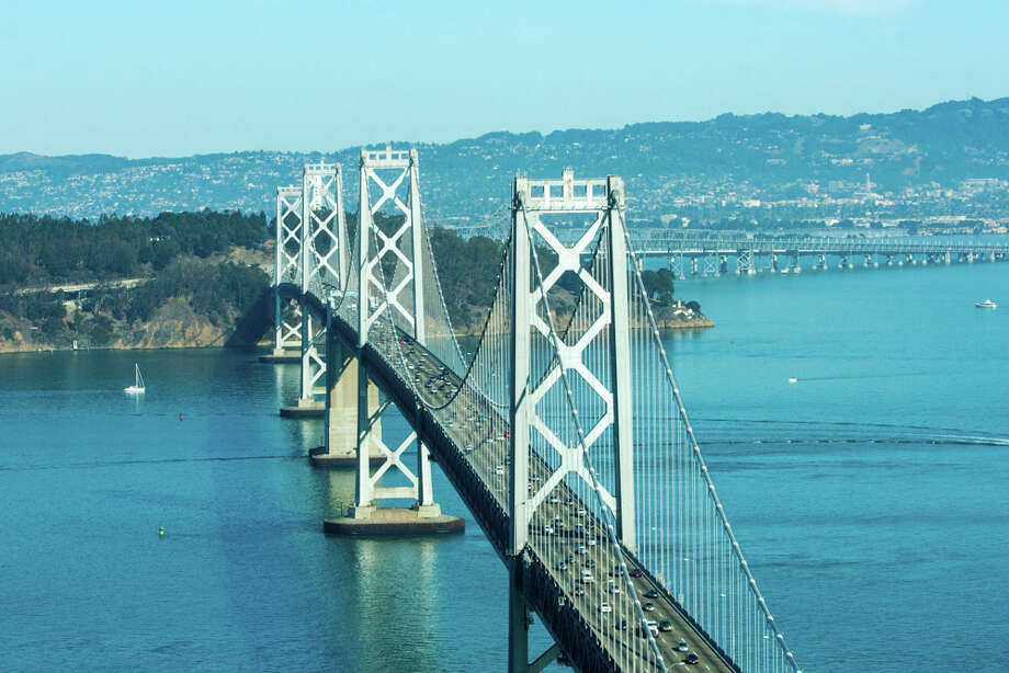 Stunning views include the Bay Bridge. Photo: JacksonFuller SF Real Estate Team