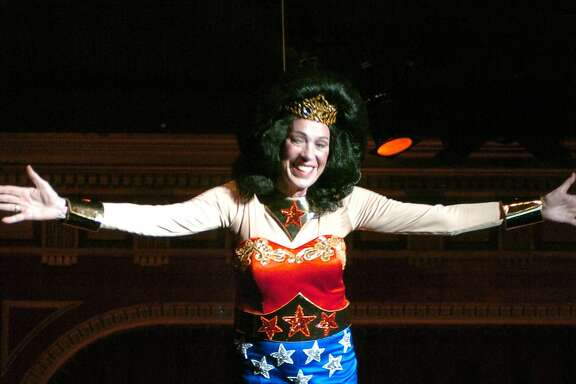 Charlotte Shultz as Wonder Woman  Ran on: 06-13-2004