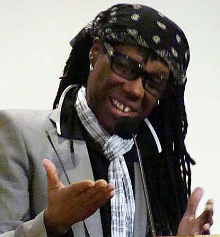 "Nile Rodgers, the Grammy Award-winning musician, producer, arranger and composer, will honored today at the Westport Library's annual ""BOOKED for the Evening"" program. The event starts at 7 p.m. in the library, which is closed earlier in the day to prepare for the event. Photo: File Photo / Westport News"