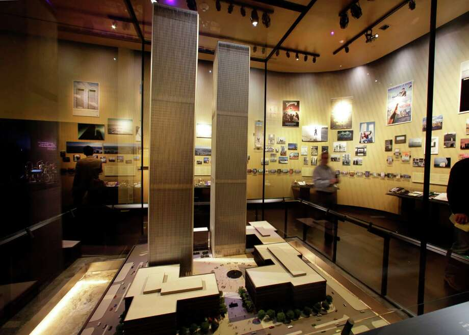 The only existing model of the World Trade Center is displayed at the National Sept. 11 Memorial Museum, Wednesday, May 14, 2014, in New York. The museum is a monument to how the Sept. 11 terror attacks shaped history, from its heart-wrenching artifacts to the underground space that houses them amid the remnants of the fallen twin towers' foundations. It also reflects the complexity of crafting a public understanding of the terrorist attacks and reconceiving ground zero.  (AP Photo) ORG XMIT: NYRD111 / AP