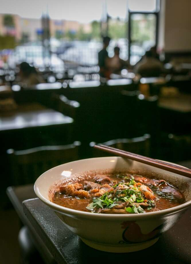 The Thai Boat noodles at Ran Kanom Thai Noodle in San Pablo, Calif. Photo: John Storey, Special To The Chronicle
