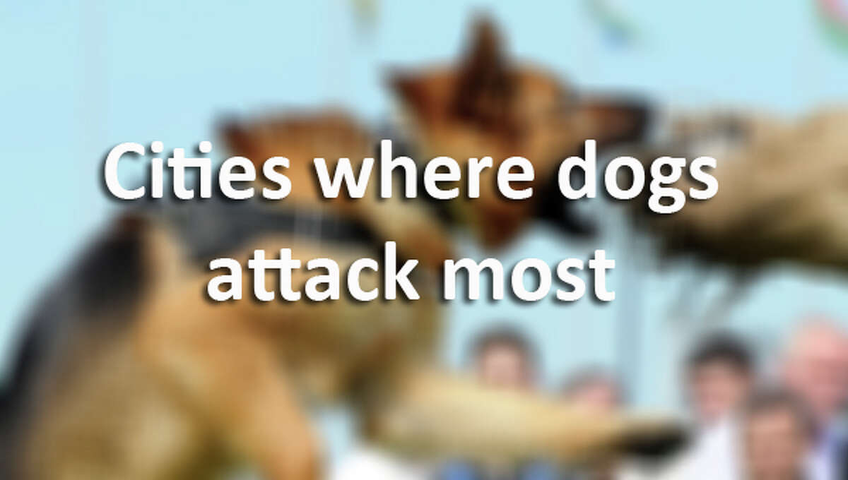 Here are the top 10 U.S. cities with the most cases of dog attacks on postal workers.