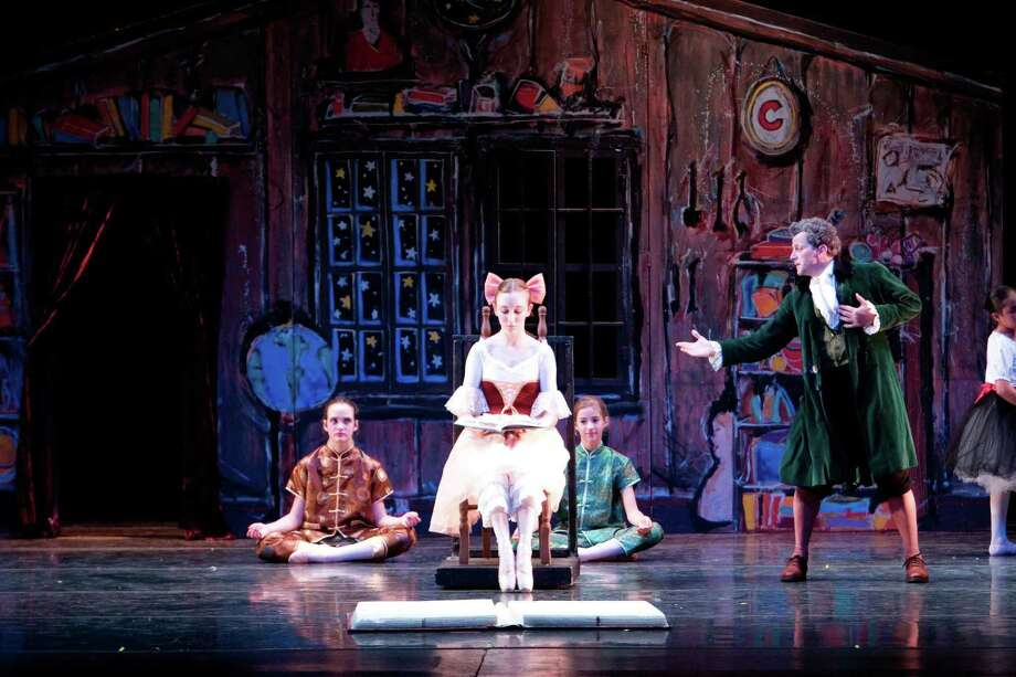 "Stamford Ballet will perform ""Coppelia,"" on Friday at the Palace Theatre in Stamford, Conn., which will include a benefit that raises funds for its scholarship program. Pictured is a scene from the company's 2008 production of the classic ballet. Find out more.  Photo: Contributed Photo / Stamford Advocate Contributed"