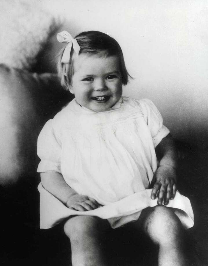 1931: Grace Kelly, age 2, pictured as a young girl  Photo: Paul Popper/Popperfoto, Getty / Popperfoto