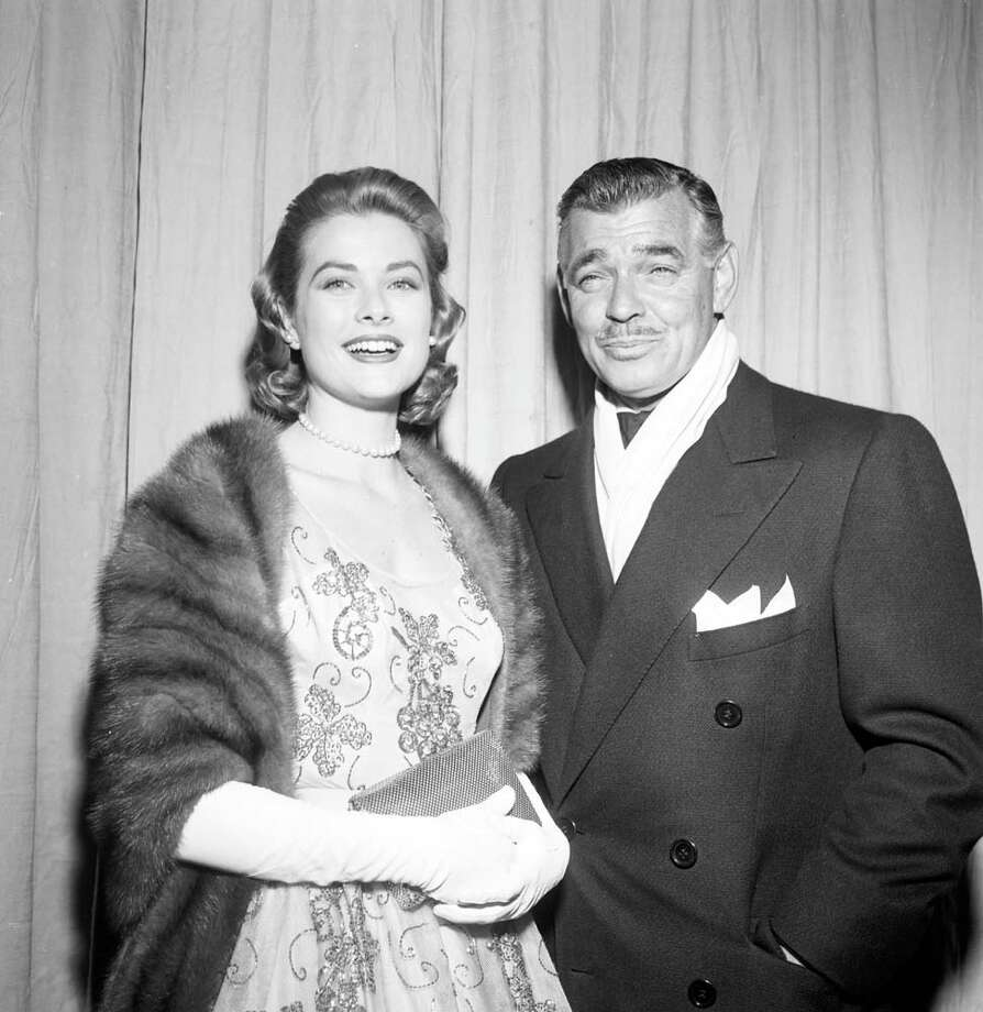 1952: Clark Gable and Grace Kelly in Los Angeles, California. Photo: Michael Ochs Archives, Getty / 2013 Getty Images