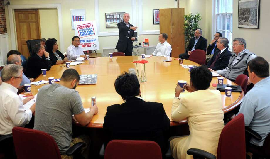 Charmant Bridgeport Mayor, City Staff Stress Opportunities For Small Business