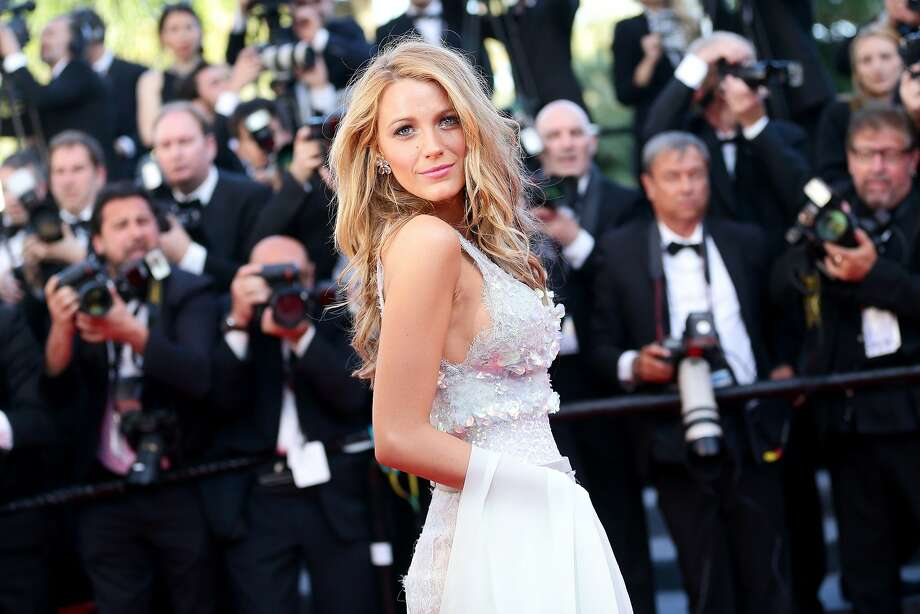 "Blake Lively attends the ""Mr Turner"" premiere on the second day of the 67th Annual Cannes Film Festival. Photo: Vittorio Zunino Celotto, Getty Images"