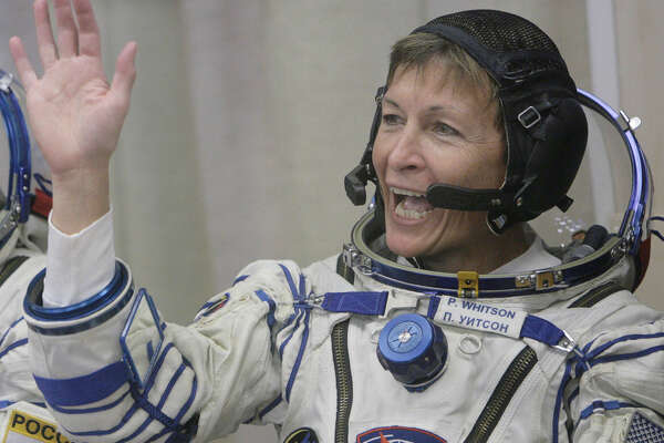 U.S. astronaut Peggy Whitson earned her doctorate degree in biochemistry from Rice University.