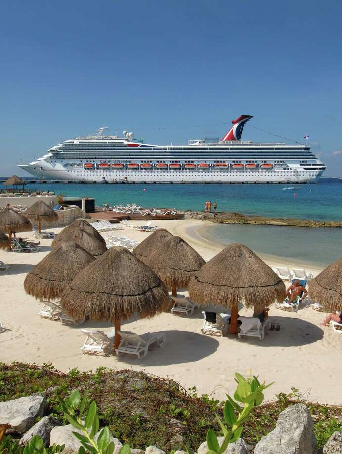 Carnival Freedom was one of four ships where air quality samples were collected. Photo: Andy Newman, HO / 2007 Andy Newman
