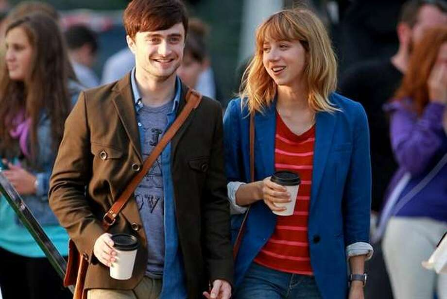 "Daniel Radcliffe and Zoe Kazan star in the romantic comedy ""What If"" opening this weekend.Watch the trailer.  Photo: CBS Films / ONLINE_YES"