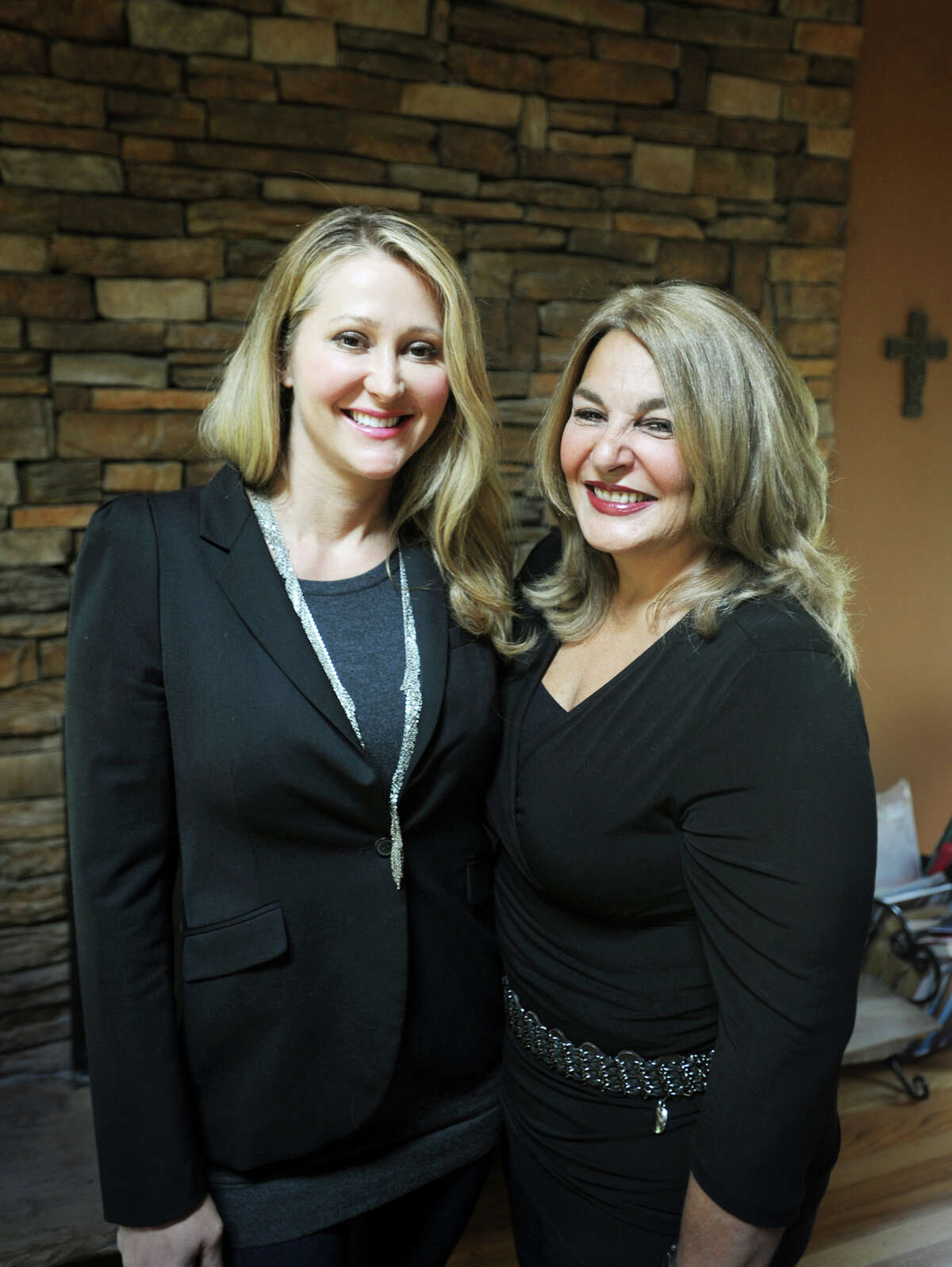 Partners in D & B Wellness, LLC, Karen Barski, left, and Angela D'Amico, both of Trumbull, are now certified to open a medical marijuana dispensary in medical offices at 4 Garella Road in Bethel. The pairs' previous application to open a facility on Main Street in Bridgeport was not approved by the city.