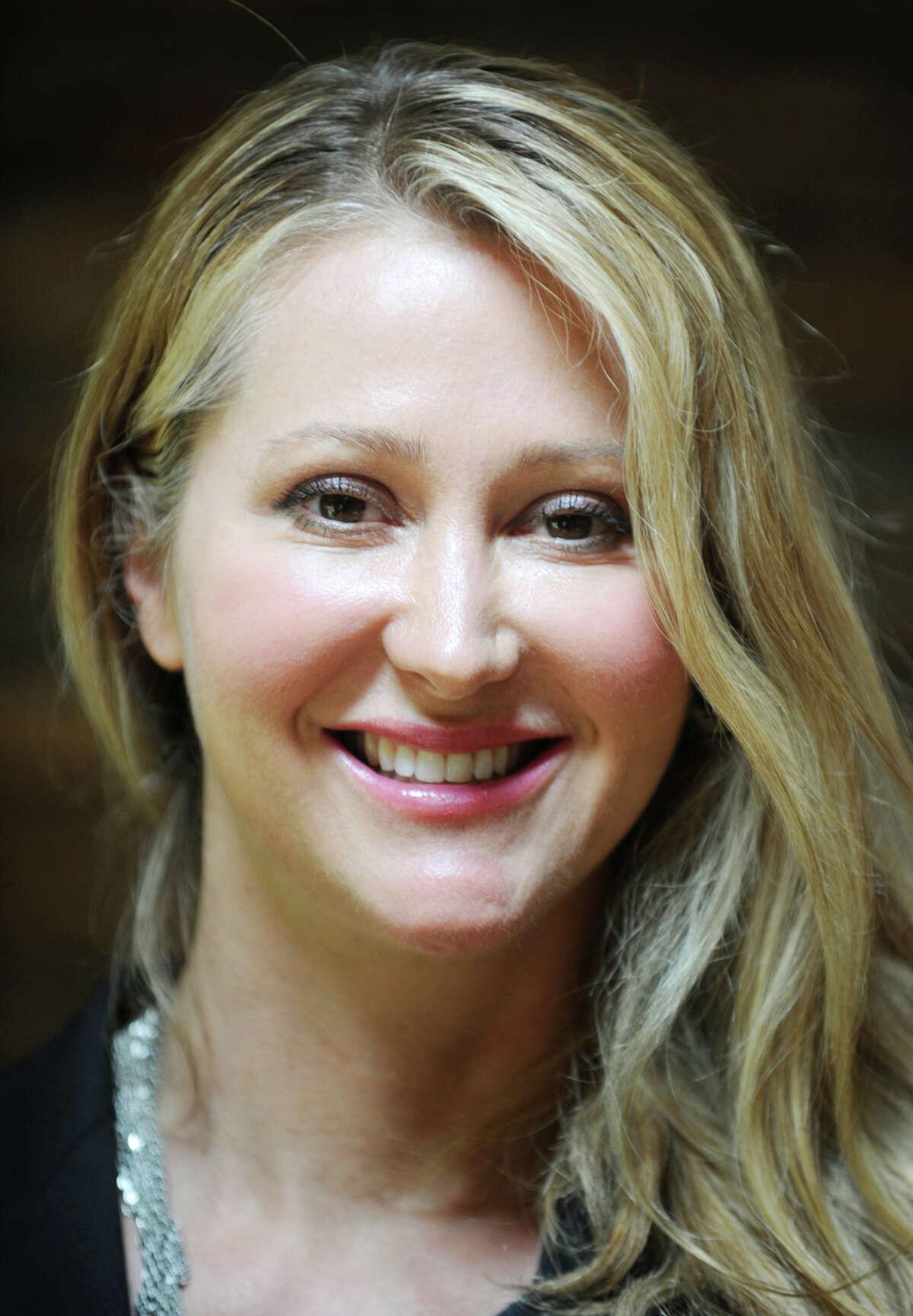 Karen Barski, of Trumbull, partner in medical marijuana dispensary D & B Wellness, LLC.