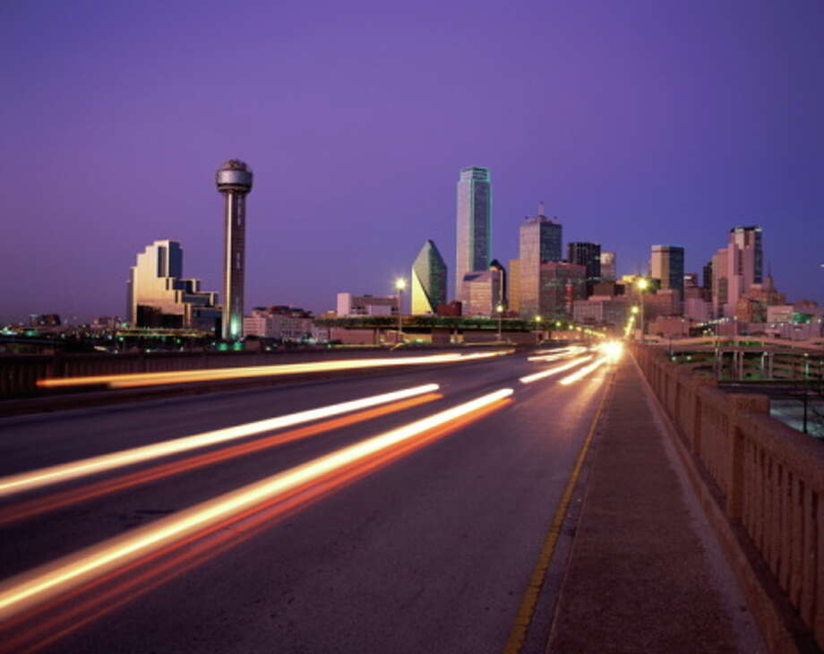 On to the nicer cities.13th-most courteous is Dallas. Not everyone in Texas is hostile on the road. Denver drivers are fourth most likely to acknowledge talking on their cell phone while driving, but also least likely to admit texting while driving (tied with Chicago). Photo: Jerry Driendl, Getty Images / (c) Jerry Driendl