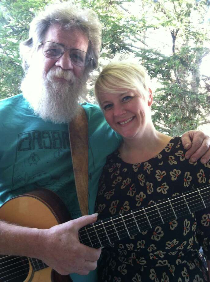 Bill and Bonnie Wisnowski, as Dovetail, will perform songs from Walking the Dragon, the alternative band they played in locally in the late 1980s and 1990s, at Danbury Arts In Actionís monthly benefit coffeehouse, Saturday, May 24. The 8 p.m. concert will be at A Common Ground, at 33 Crosby St.in Danbury. Photo: Contributed Photo / The News-Times Contributed