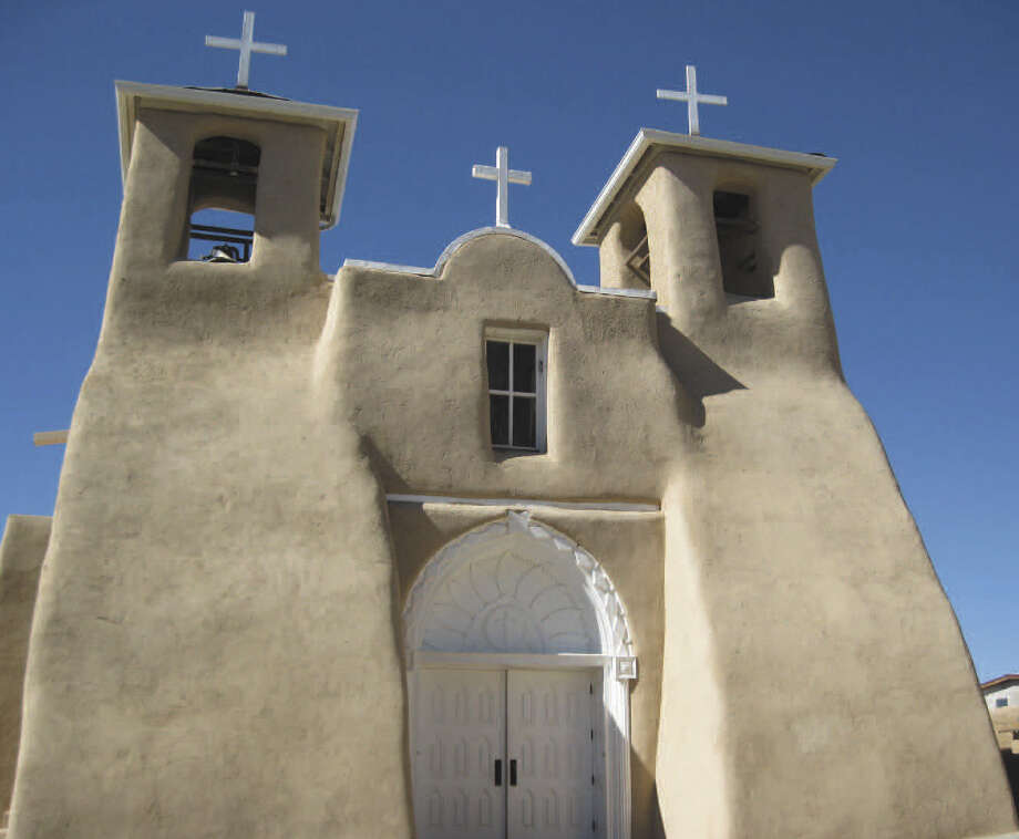The San Francisco de Assisi Mission Church in Rancho de Taos, New Mexico, was completed in 1816. Photo: Photos By Michelle Newman / For The Express-News