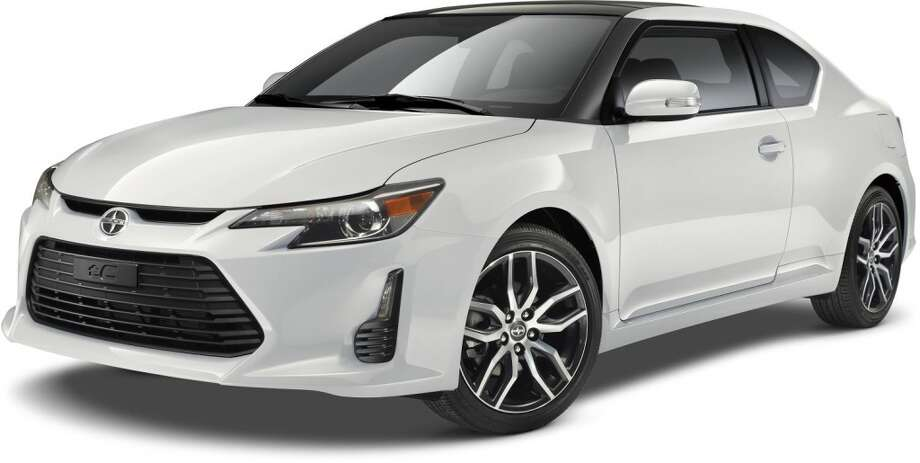 The new 2015 Scion TC Photo: Newspress USA