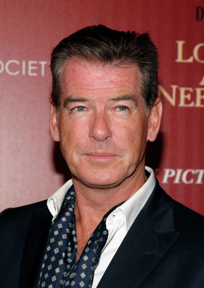 "Actor Pierce Brosnan attends a screening of ""Love Is All You Need"" presented by The Cinema Society & Disaronno on Wednesday April 24, 2013 in New York. (Photo by Andy Kropa/Invision/AP) Photo: Andy Kropa / Invision"
