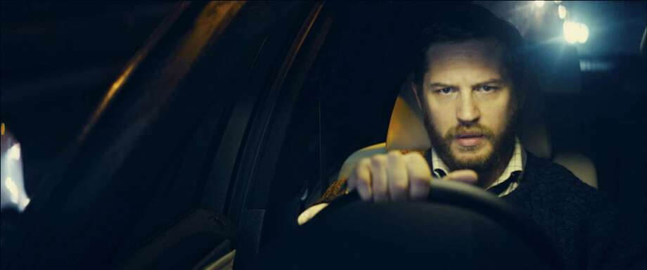"An undated handout image of Tom Hardy in the movie ""Locke,"" written and directed by Steven Knight, which is shot entirely in the same car and with only one on-screen character. Knight used three digital cameras, constantly rolling, essentially shooting the entire film twice a night, several times. (Kerry Brown/A24 via The New York Times) -- PHOTO MOVED IN ADVANCE AND NOT FOR USE - ONLINE OR IN PRINT - BEFORE APRIL 27, 2014. -- NO SALES; FOR EDITORIAL USE ONLY WITH STORY SLUGGED FILM LOCKE ADV27 BY MEKADO MURPHY. ALL OTHER USE PROHIBITED. ORG XMIT: XNYT91 Photo: KERRY BROWN / A24"