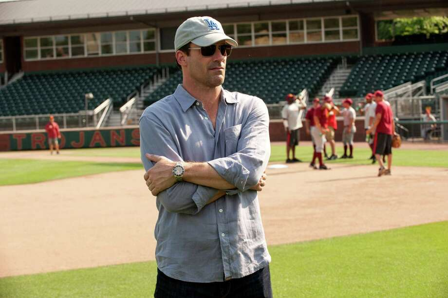 "This image released by Disney shows Jon Hamm in a scene from ""Million Dollar Arm."" (AP Photo/Disney) ORG XMIT: NYET126 Photo: Ron Phillips / Disney"