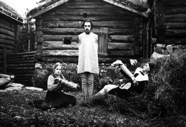 "Greta Almroth, left, Einar Rod and Hildar Carlberg  in Carl Theodor Dreyer's ""The Parson's Widow"" (1920), playing at the 2014 San Francisco Silent Film Festival. Photo: SF Silent Film Festival"