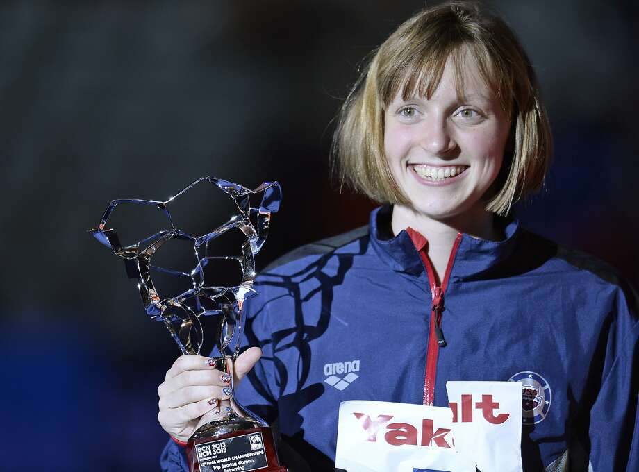 Katie Ledecky Photo: Manu Fernandez, Associated Press