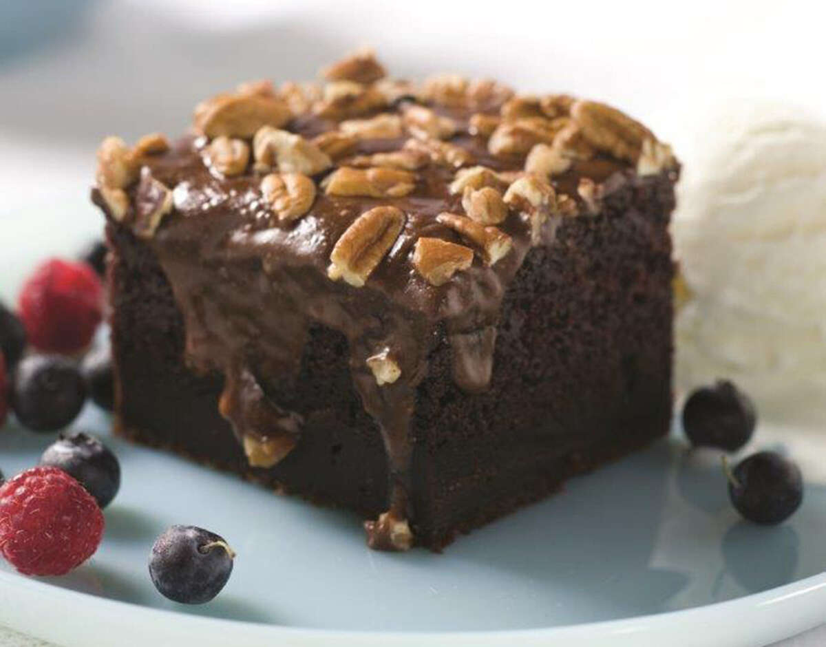 Cappy's Warm Chocolate Cake is served at Cappyccino's and at Cappy's. The recipe was passed down from Cappy Lawton's mom.
