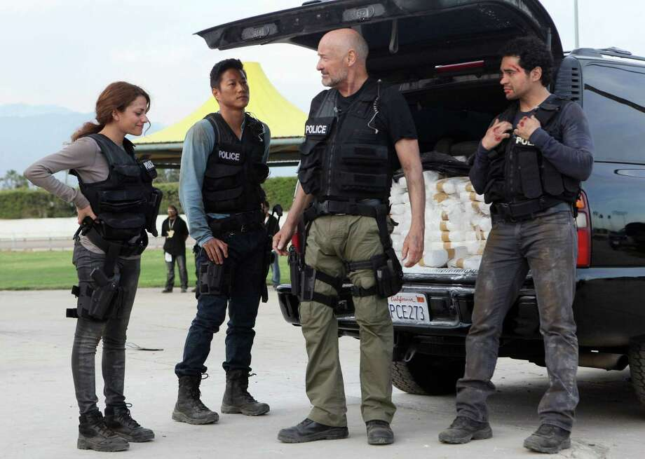 "Inbar Lavi, Sung Kang, Terry O'Quinn and Ramon Rodriguez play members of an elite gang task force in Los Angeles in a gritty new Fox series reminiscent of ""The Shield."" Photo: Fox / San Antonio Express-News"