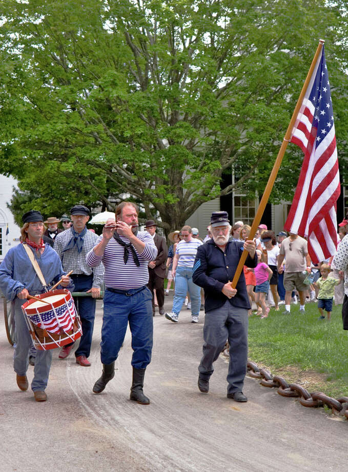 Mystic Seaport will celebrate Decoration Day on Monday, May 26, with an 1868-style observance. Photo: Contributed Photo / Connecticut Post Contributed