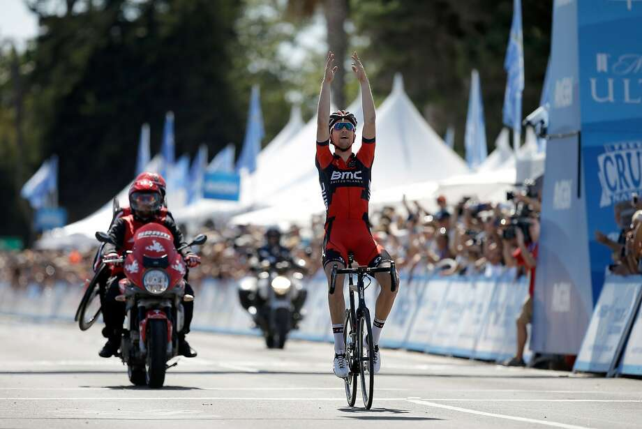 Taylor Phinney felt he had an advantage with his heavier weight in winning the fifth stage near Santa Barbara. Photo: Ezra Shaw, Getty Images
