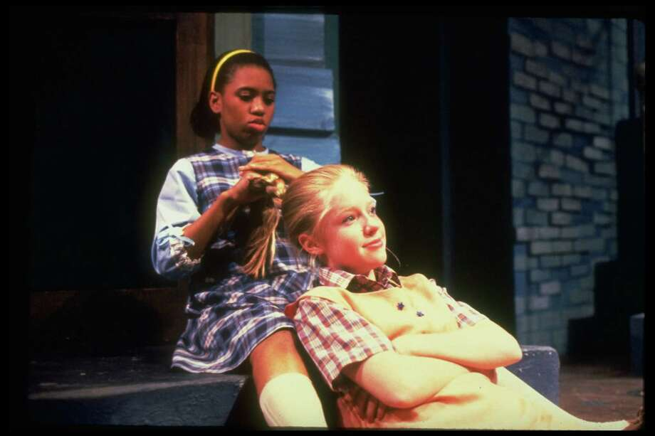 """Chandra Wilson is a longtime theater and TV actress. She's pictured, left, in the play, """"The Good Times are Killing Me."""" (Date unknown). Photo: Susan Cook, Getty Images / Susan Cook"""