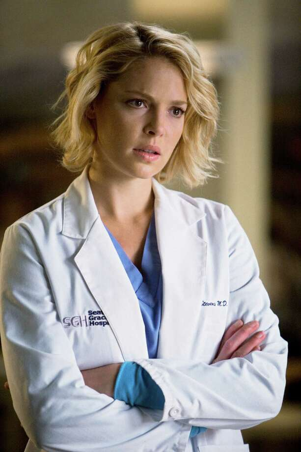"""Longtime fans will remember """"Izzie Stevens,"""" the tragicomic character who left a few years ago. She was played by Katherine Heigl. Photo: RANDY HOLMES, Getty Images / © 2008 American Broadcasting Companies, Inc. All rights reserved. NO ARCHIVE. NO RESALE."""