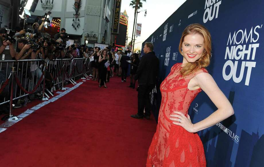 """Sarah Drew's latest project: The movie """"Mom's Night Out."""" She's pictured at the movie's premiere on April 29, 2014. Photo: Angela Weiss, Getty Images / 2014 Getty Images"""