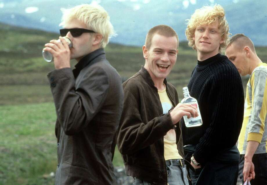 "Kevin McKidd, second from right, got his major movie breakthrough in 1996's ""Trainspotting"" with Ewan McGregor, second from left.  Photo: Archive Photos, Getty Images / 2012 Getty Images"