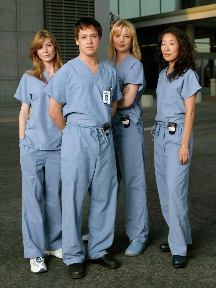 "The original ""Grey's Anatomy"" cast. Photo: BOB D'AMICO, Getty Images / ABC, INC."