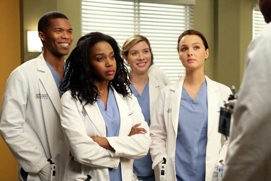 "The ""Grey's Anatomy"" cast, 2014.  Photo: Danny Feld, Getty Images / 2014 American Broadcasting Companies, Inc."
