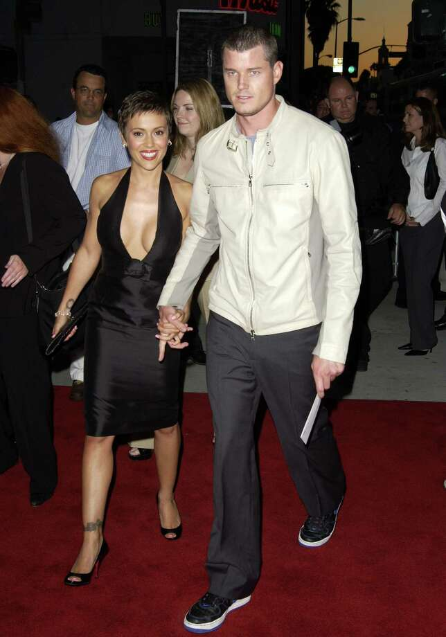 Eric Dane in 2003, when he was dating Alyssa Milano.  Photo: SGranitz, Getty Images / WireImage